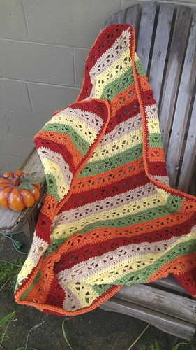 Missed Stitches Crochet Fall Fantasy Crochet Throw Pattern