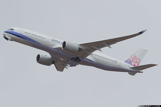 China Airlines Airbus A350-941 cn 049 F-WZGV // B-18901