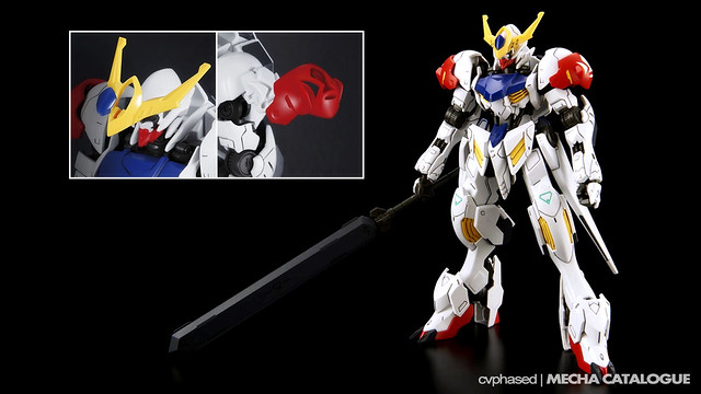 HG IBO Gundam Barbatos Lupus - Colored Prototype Shots