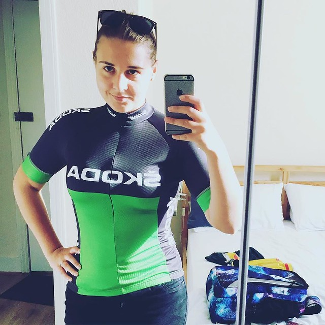OMFuckingG I'll have hopefully completed #ride100 by this time next week! Bring it on! #teamskoda #girlswhoride #cyclingblogger #fitnessblogger
