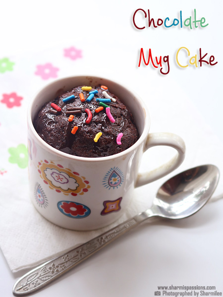Easy Chocolate Mug Cake Recipe