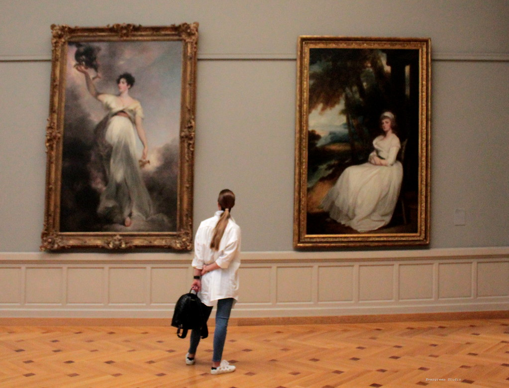 Ladies in White - Musee d'Art et d'Histoire de Geneve