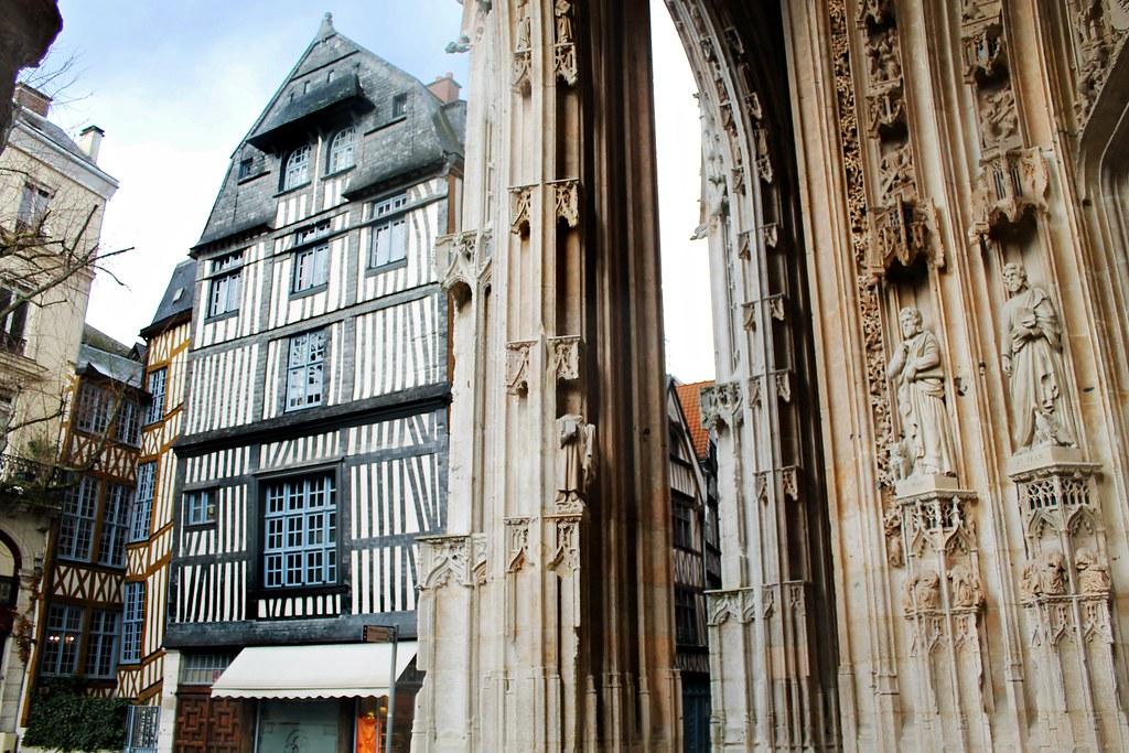 Drawing Dreaming - 10 coisas a fazer num dia em Rouen - Église Saint Maclou