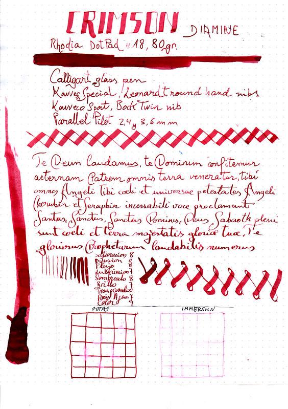 Diamine Crimson-1