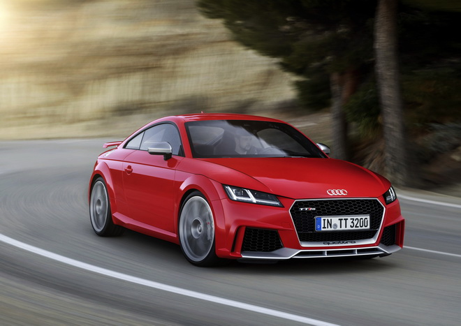 Audi TT RS Coupe, model year 2016
