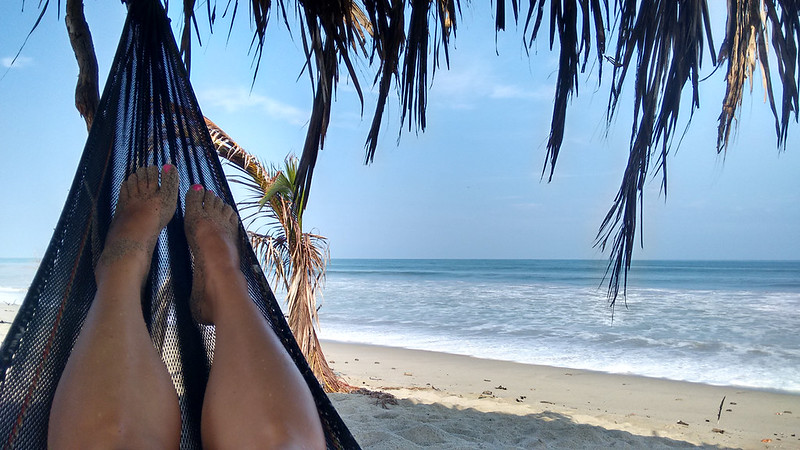 Enjoying the Beach, Zorritos, Tumbes, Peru