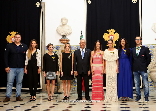 Palácio de Belém - Cerimónia de Condecoração de Atletas Portugueses Medalhados