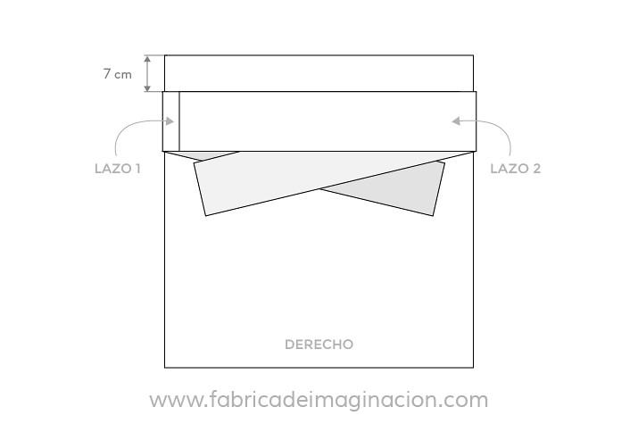 DIY Blusa hombros descubiertos · DIY Top off the shoulders · Fábrica de Imaginación · Tutorial in Spanish