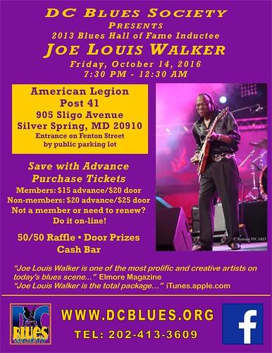 DCBS presents Joe Louis Walker