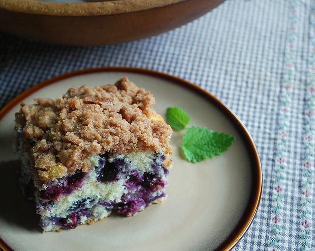 Blueberry Muffin Cake 2