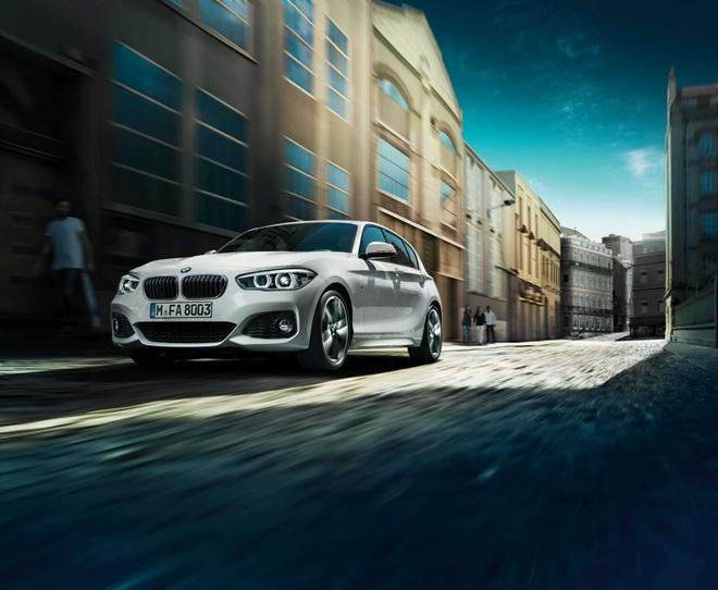[新聞照片一]BMW 1系列搭載M款空力套件