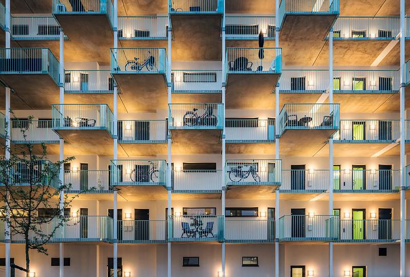 Жилой комплекс в Мальмё. Проект Jull Frost Architects