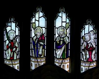 St Felix, St Nicholas, St Augustine, St Christopher (Christopher Powell, 1932)