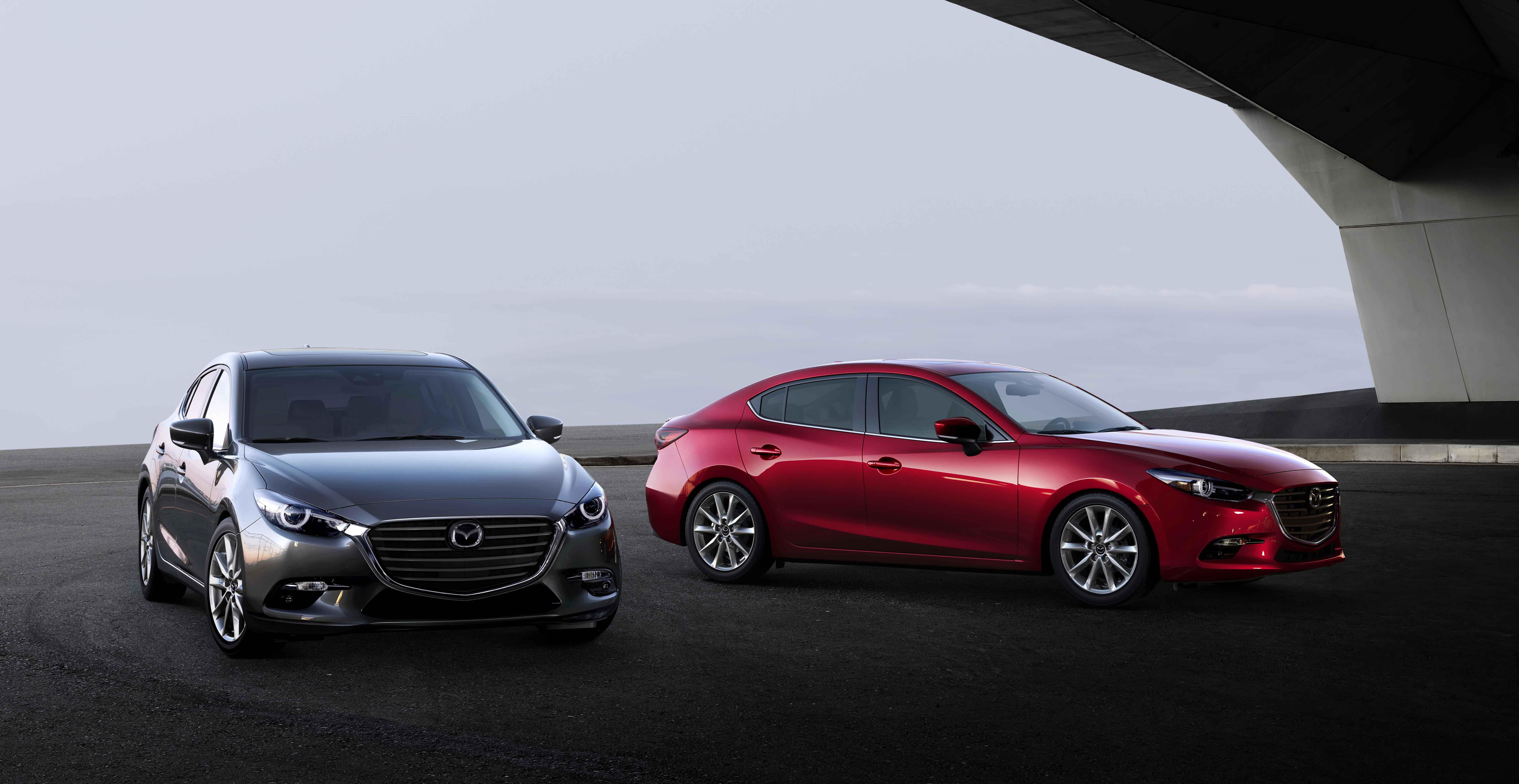全新17年式MAZDA3 新增新車色-鋼鐵灰,外型更洗練