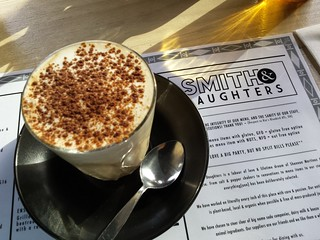 Chai with Cashew Milk from Smith & Daughters