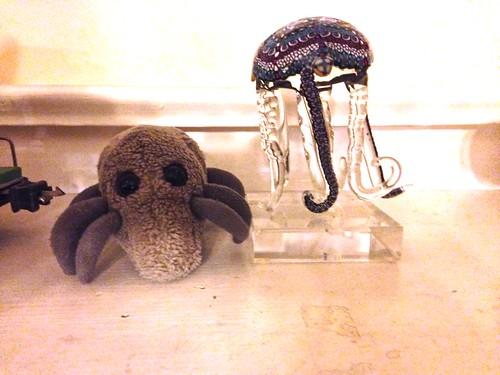 Mite & Jellyfish
