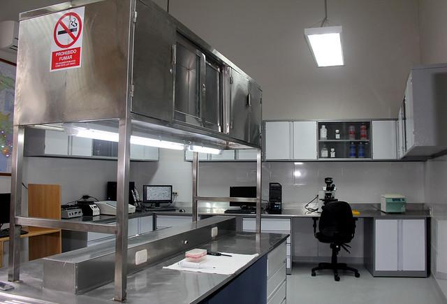 Inauguración del remodelado Laboratorio de Referencia Nacional de Anatomía Patológica