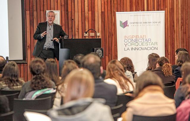 Charla de Ricardo Capponi: Promover personas con mentalidad innovadora
