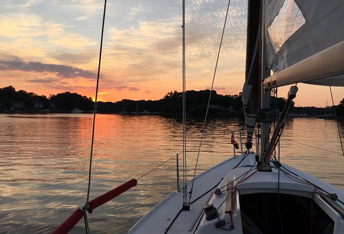 20160730 - sailing on the Magothy