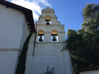 Bells, Mission San Juan Bautista, California July 2016