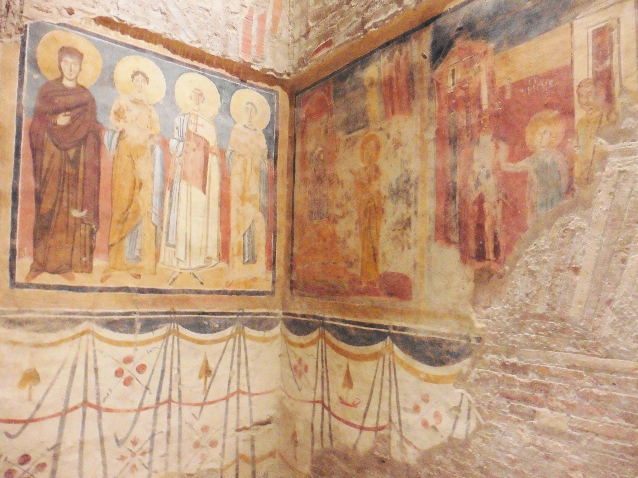 Roman Forum Frescos