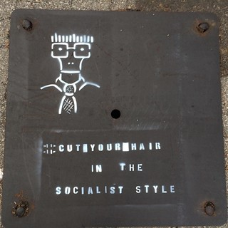 That's grate! #cutyourhairinthesocialiststyle