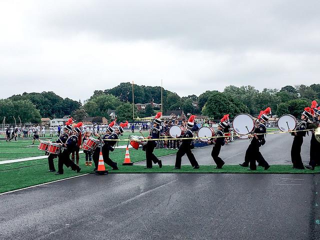 Drum corps.