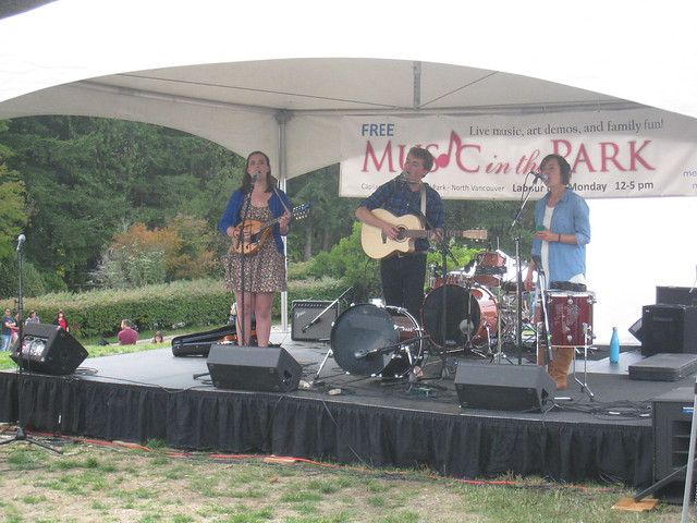 Music in the Park 2015
