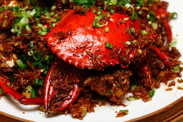 Fried Crab Glutinous Rice