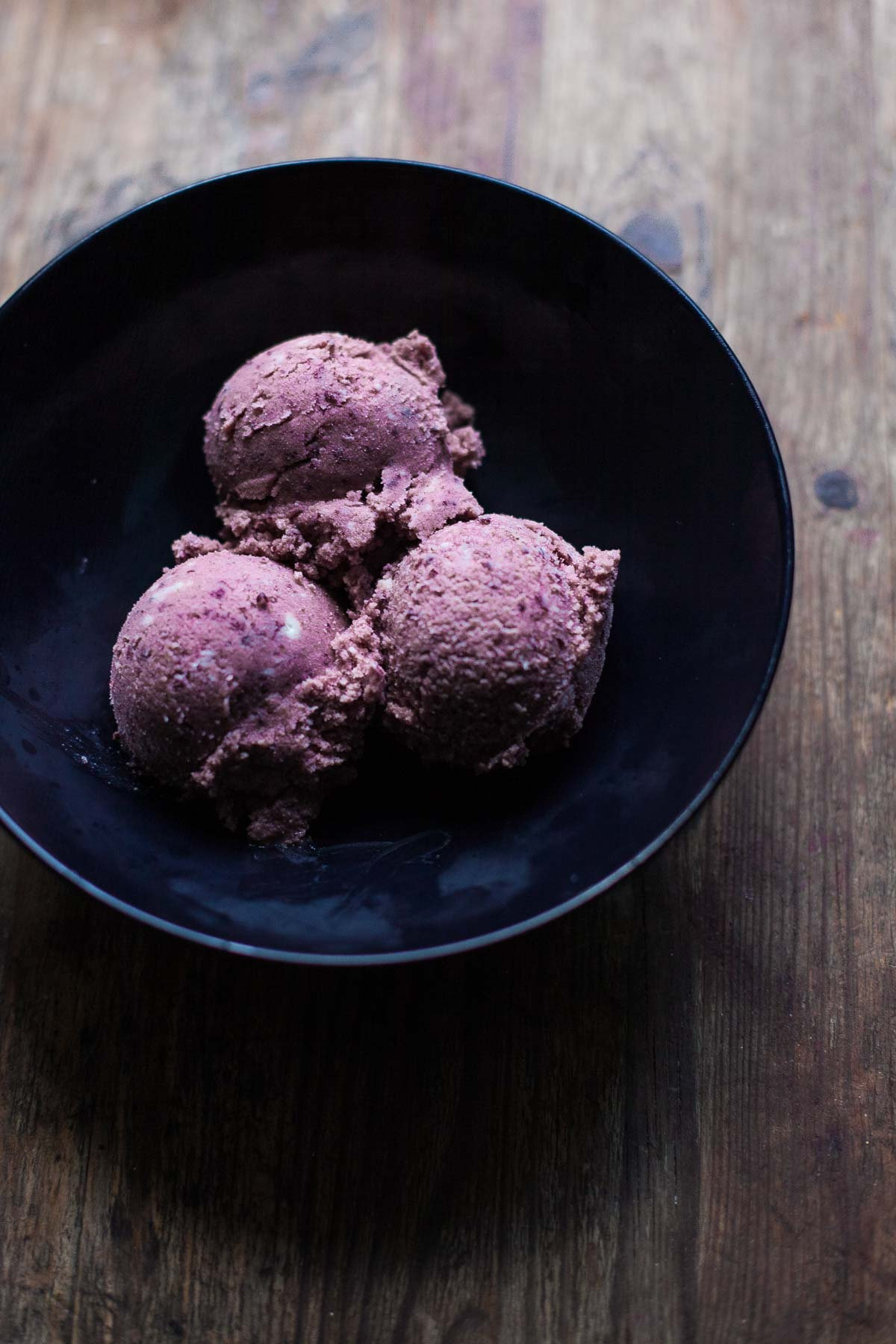 Cherry No-Churn Ice Cream