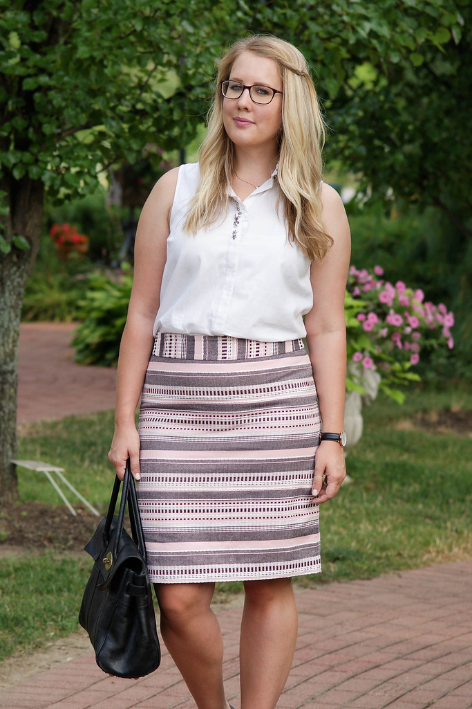 business casual summer outfit