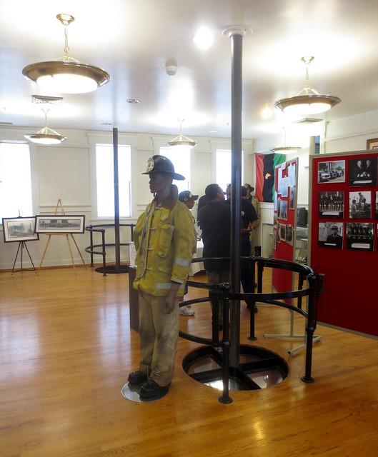 Firehouse poles!