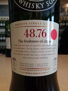 SMWS 48.76 - The freshness of citrus!