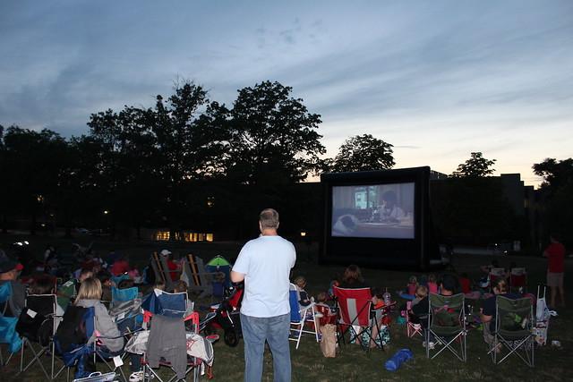 2016 Family Movie Night on the Quad
