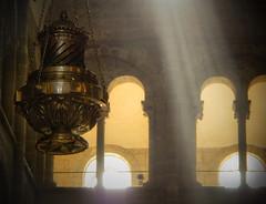 Incense Burner in the Cathedral in Santiago de Compostela