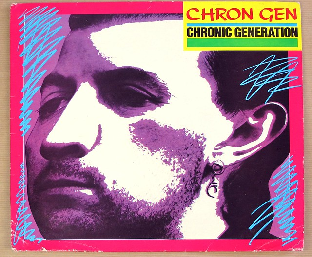 "CHRON GEN CHRONIC GENERATION + INSERT 12"" LP VINYL"