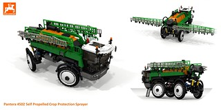 Amazone Pantera 4502 Self Propelled Crop Sprayer