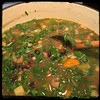#BlackBean #Callaloo #Soup #Salad #Homemade #CucinaDelloZio - mix well & let cook