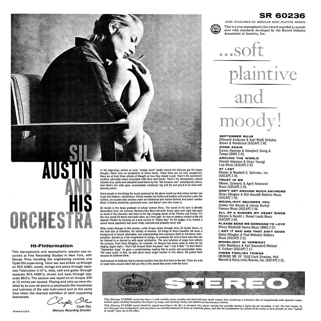 Sil Austin – Soft, Plaintive & Moody