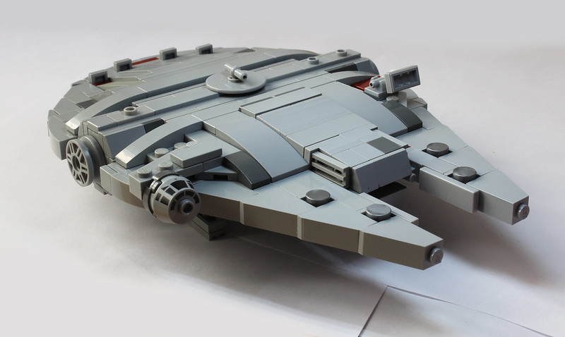 [MOC] Mini Millennium Falcon (with Instructions) - LEGO ...