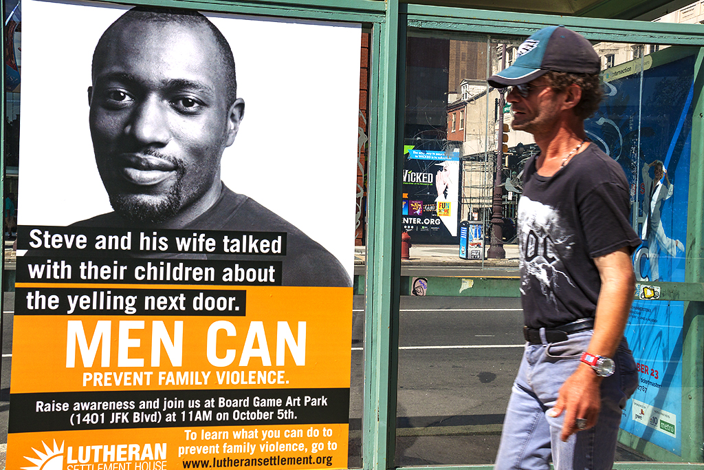MEN CAN PREVENT FAMILY VIOLENCE--Center City