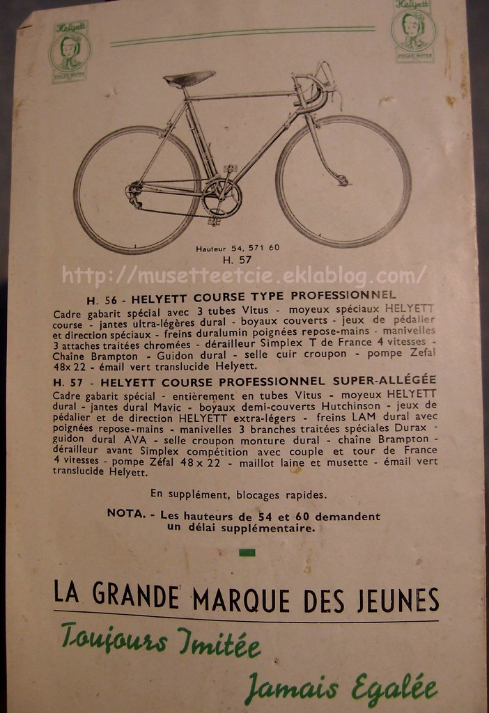 """vélo TOUR DE FRANCE 1937-48 """"  17042569556_7d791109c2_b"""