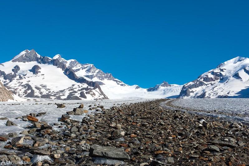 Looking back - Aletsch