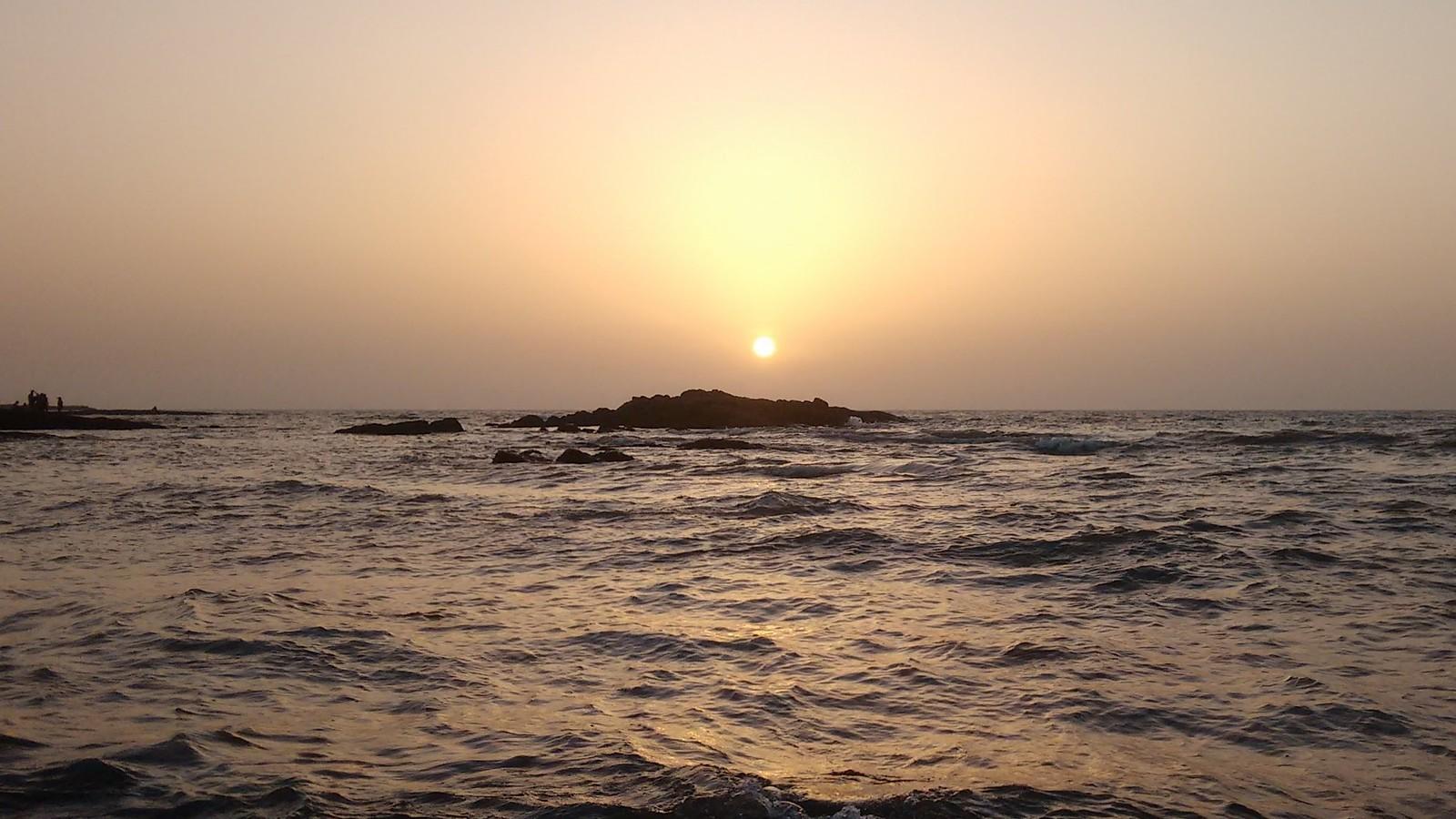 Aksa Beach Sunset