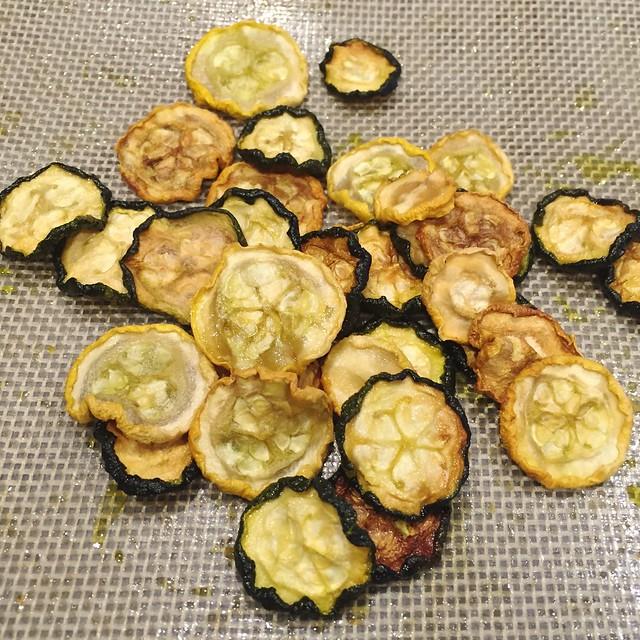 Squash & Zucchini Chips