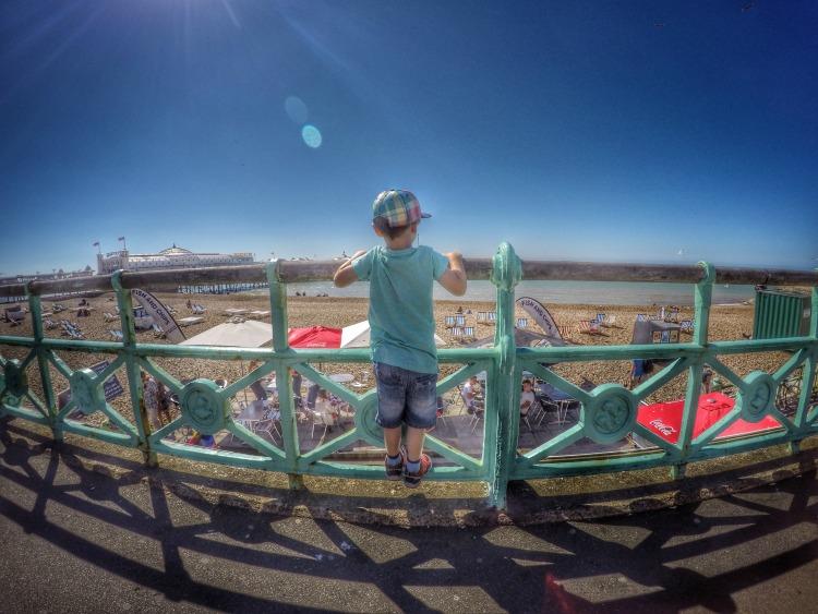 Brighton Pride beach