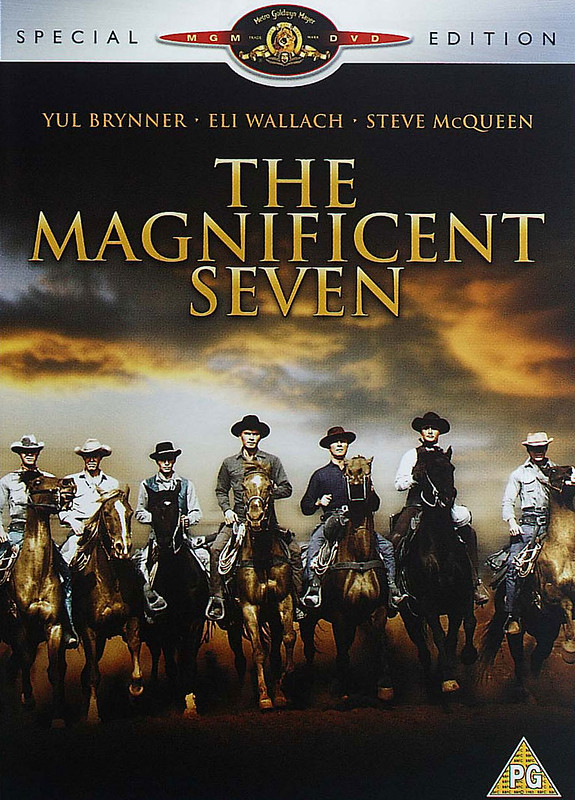 The Magnificent Seven - 1960 - Poster 5