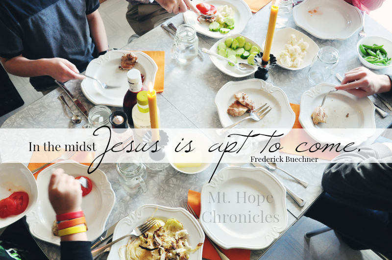 In the Midst @ Mt. Hope Chronicles