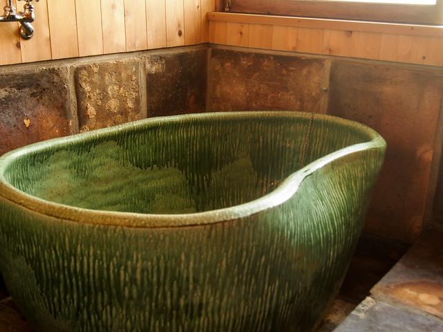澤清嗣《風呂》