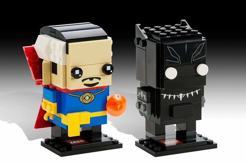 LEGO BrickHeadz: Doctor Strange and Black Panther